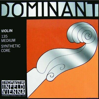 Thomastik Dominant 135 Set Strings For Violin 4/4 Synthetic Core