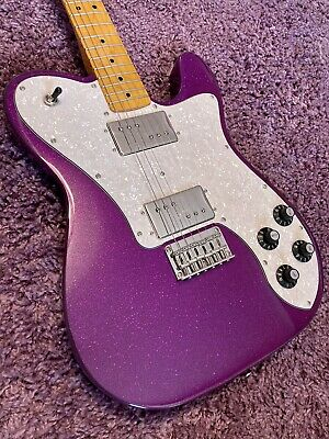 Fender Squier Classic Vibe '70s Telecaster Deluxe Purple Sparkle Limited Edition