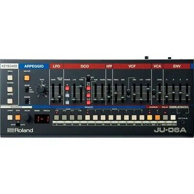Roland JU-06A 4-Voice Polyphonic Synth Module Brand New In Stock Juno106 Juno 60