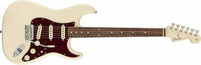 Fender Limited Edition Vintera '60s Stratocaster Olympic White, Matching Headsto