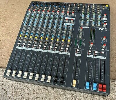Allen and Heath PA12 Mixing Desk (Unpowered) PA-12 A&H Analogue Console