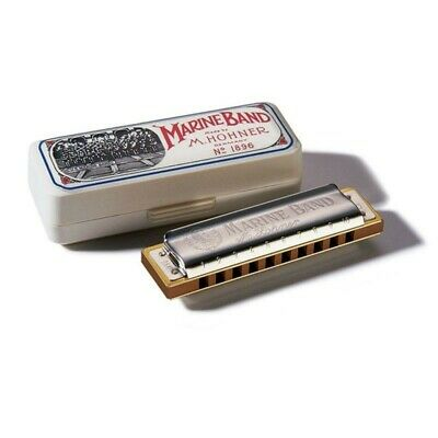 HOHNER Marine Band 1896 Classic IN - The 20 Voices Harmonica IN Mouth