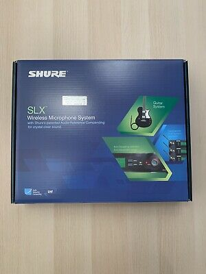 Shure SLX14-H5 Wireless Microphone System *PRICE IS NEGOTIABLE*