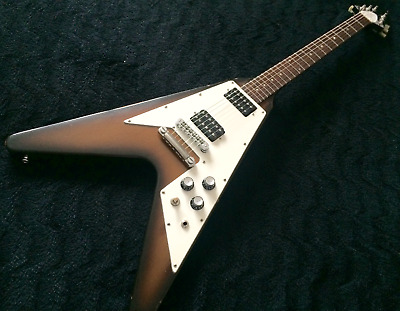 Vintage 1989 Gibson Flying V 67 Reissue electric guitar with OHSC for sale