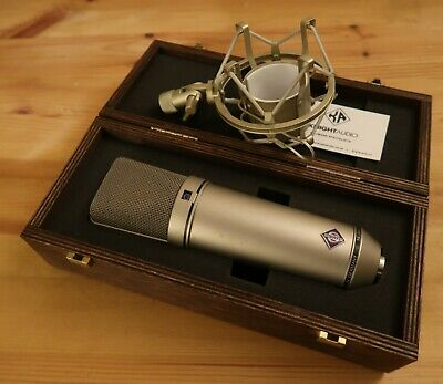 Neumann U87 A i P48 Vintage Microphone with case and shockmount VGC ser# 68777