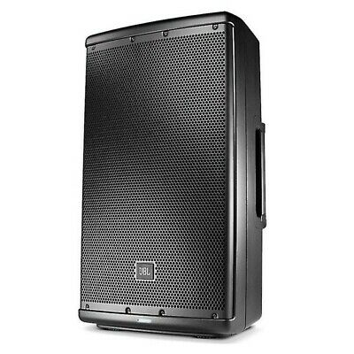 Used JBL EON612A Powered Speaker with LED Speaker Stand and Bags