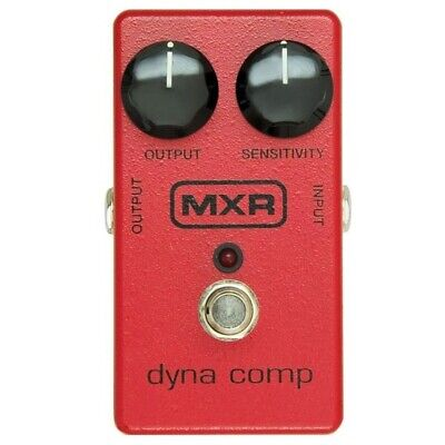 Dunlop MXR M102 Dyna Comp Compressor Guitar Effects Pedal, Red • 56.74£