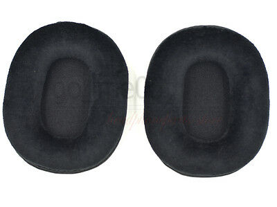 Velour Oval Ear Pads Cushon Pillow For SONY MDR 7506 V6 CD900ST CD700 Headset Uk • 12.50£