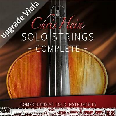 Best Service Chris Hein Solo Strings Complete EX 2.0 Upgrade From Solo Viola EDe • 346.44£
