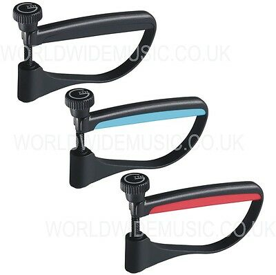 G7th ULTRALIGHT Capo For Acoustic And Electric Guitar Choice Of Black Blue & Red • 12£