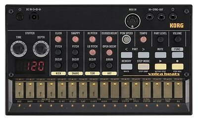 Korg Volca Beats Brand New Unit Modified With Snare Mod, Volume Mod & MIDI OUT • 200£