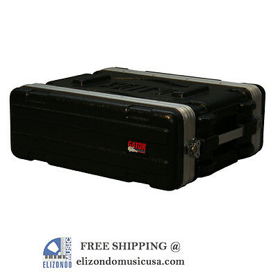 Gator Cases GR-3S Audio Rack Shallow 3 Space UPC 716408502786 • 93.78£
