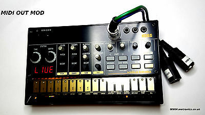 Korg Volca Beats Brand New Boxed With MIDI OUT MODIFICATION & Patch Lead • 195£