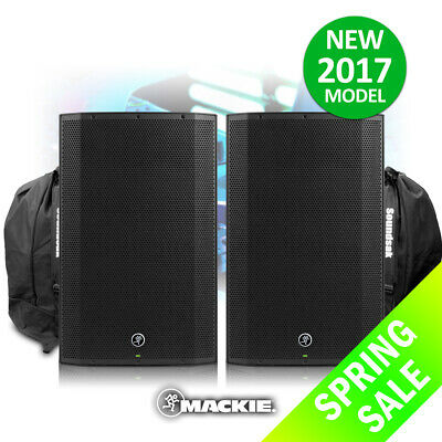Mackie Thump15A V4 Active DJ PA Speaker 15  1300w Powered NEW! SERIES + Bags • 629£