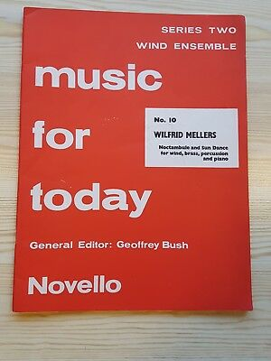 Music For Today Novello for Wind Ensemble Series 2 No 10. Wilfrid Mellers