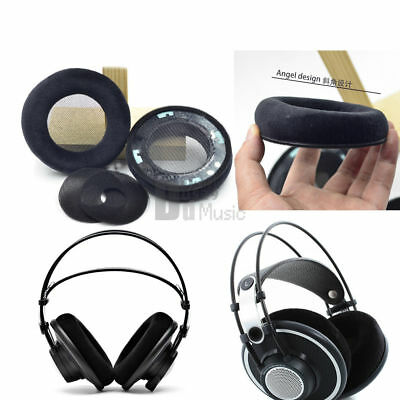 Velvet Ear Pads Cushion For AKG K701 K702 Q701 Q702 K601 K612 K712 Pro Headphone • 14.75£