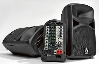 Yamaha STAGEPAS 400BT Portable PA System • 581.43£