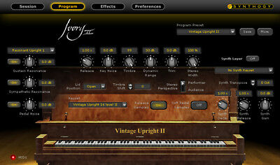 Ivory II - Upright Pianos By Synthogy (Download) • 227.91£