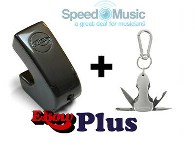 E-Bow Plus For Electric Guitar + Guitarist's Pocket Multi-Tool (great Gift!) • 99.99£