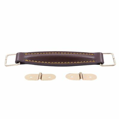 Amplifier Leather Strap For Marshall AS50D AS100D Guitar AMP Cabinet(Brown) J7V1 • 10.39£