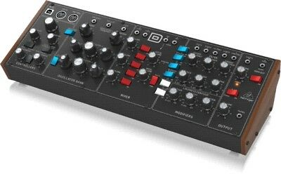 Behringer MODEL D Legendary Analog Synthesizer With 3 VCOs, Ladder Filters, LFO • 300£