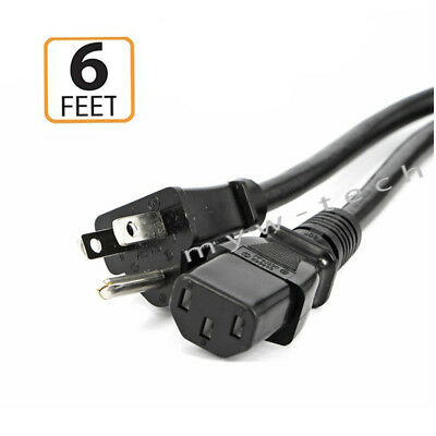 Power Cord Cable For Behringer Xenyx X1622USB QX1002USB X2442USB UFX1604 UFX1204 • 7.38£
