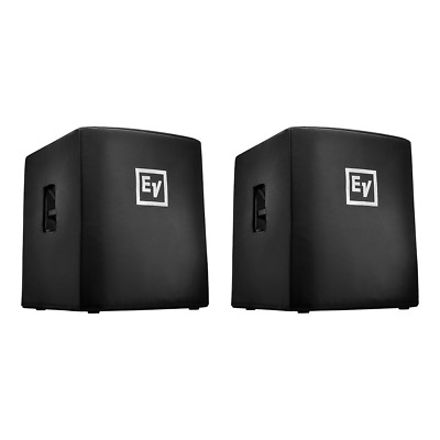 2x Electro-Voice (EV) ELX200-18SP Padded Covers • 135£
