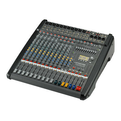 Dynacord PowerMate 1000-3 10 Channel Powered Mixer Mixing Desk 2 X 1000W Effects • 2,099£