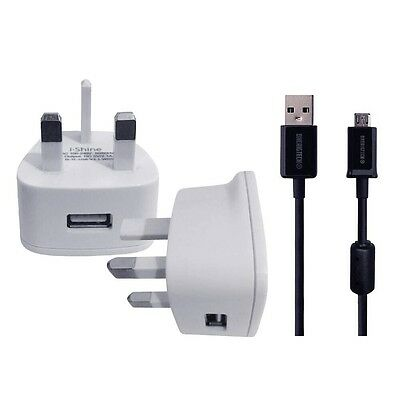 WALL CHARGER&USB FOR Sennheiser HD 4.50 BTNC Wireless Headphone  • 7.99£