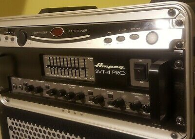 Ampeg SVT-4 PRO Series Tube/Solid-State Bass Amplifier Head, 1600 Watts (MINT) • 856.76£