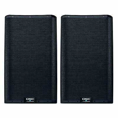 QSC K12.2 K2 Series 2-Way 12  Active/Powered DJ PA Speakers Pair K12 • 1,157.73£