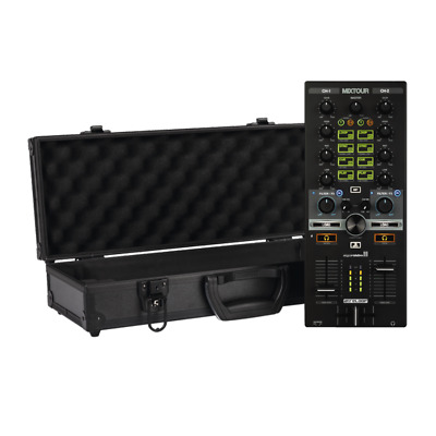 Reloop Mixtour 2ch All-In-One DJ MIDI Controller Inc Flightcase Bundle • 199£