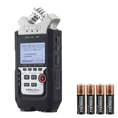 Zoom H4N Pro With 4 FREE AA Batteries • 164.40£