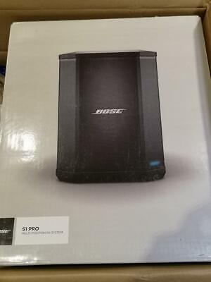 Bose S1 Pro With Rechargeable Battery Pack Bluetooth Portable PA Speaker System • 445.58£