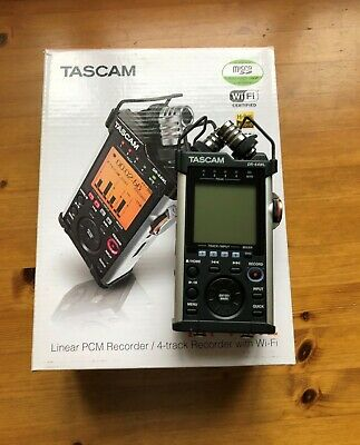 Tascam DR-44WL Portable 4 Track Recorder With WI-Fi • 180£