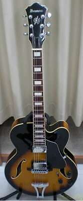 Ibanez Electric Guitar Hollow Body S0212151 Af75 Bs 13 01 • 487.49£