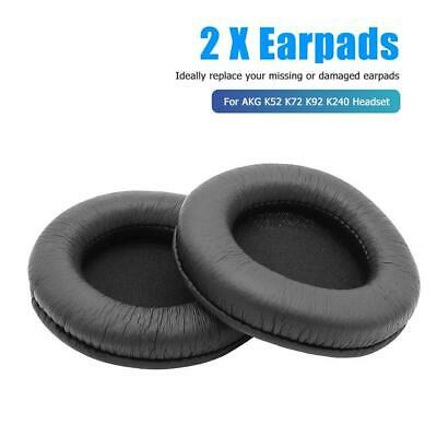 1 Pair Replacement Leather Cushion Ear Pads For AKG K52 K72 K92 K240 Headphones • 6.41£