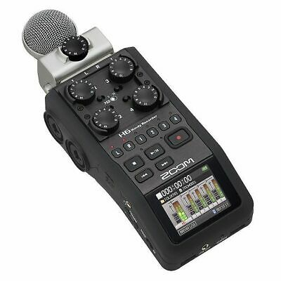 Zoom H6 Handy Recorder With Cubase LE 6 Audio Production Software • 338.10£