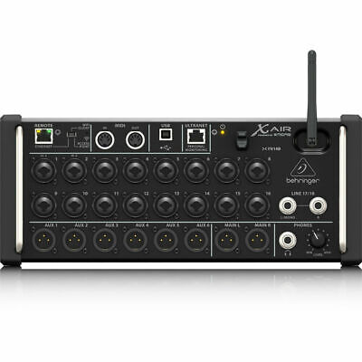 Behringer X Air XR18 18-Input Digital Mixer For IPad/Android Tablets WiFi USB • 401.66£