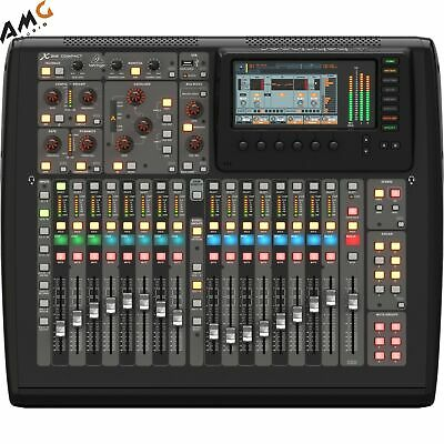 Behringer X32 Compact 40-Input 25-Bus Digital Mixing Console W 16 Mic Preamps • 1,367.53£