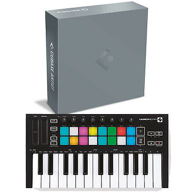 Steinberg Cubase Artist 10 Software Box With Novation Launchkey Mini MK3 • 309.97£