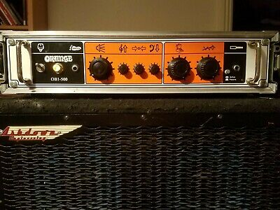 Orange OB1-500 Bass Amplifier With Swan Flight Case • 480£
