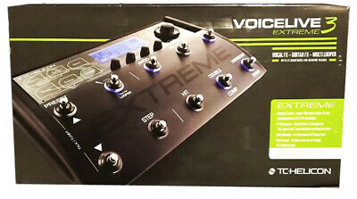TC-Helicon VoiceLive 3 Extreme Guitar/Vocal Effects Processor+Looper 996354105 • 603.47£