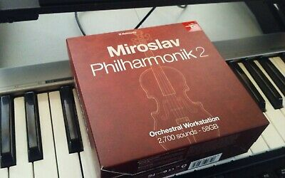IK Multimedia Miroslav Philharmonik  2 Full Boxed Version Orchestral VST 58GB  • 160.80£