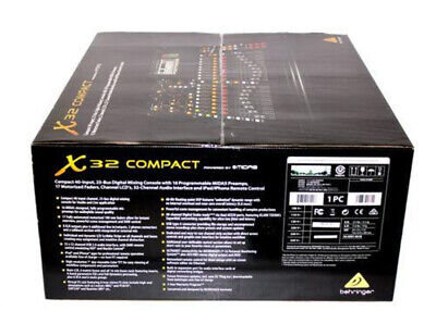 Behringer X32 COMPACT 32-Channel Digital Mixer Board Console 40-Input 25-Bus • 1,355.28£