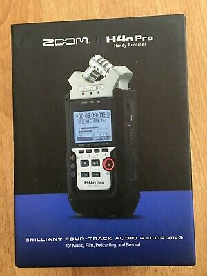 New  Zoom H4n Pro Brilliant For-track Audio Recording • 149.95£