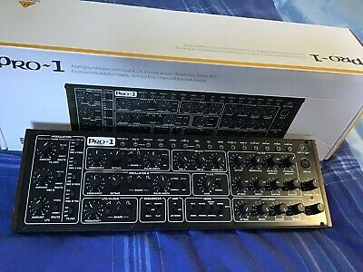 Behringer Pro 1 Synthesiser Module- Used Once. With All Packaging, Cables Etc. • 210£