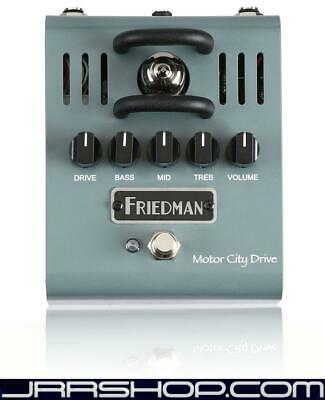 Friedman Amplication Motor City Drive Pedal New JRR Shop • 219.43£
