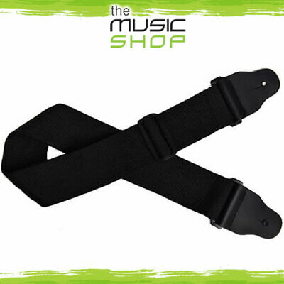 Planet Waves Black Woven Bass Guitar Strap - 3  Wide, Length Adjustable - 75B000 • 26.45£