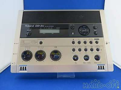 Roland Z9C1540 CD-2U Frequency 20Hz-20KHz SD / CD Recorder From JP Free Shipping • 533.81£